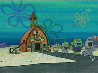 Topic, Downtown bikini bottom the nobility?