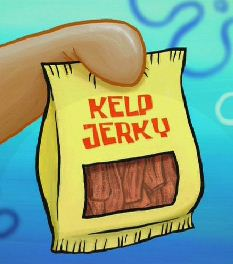 Kelp Jerky From Spongepedia The Biggest Spongebob Wiki In The World