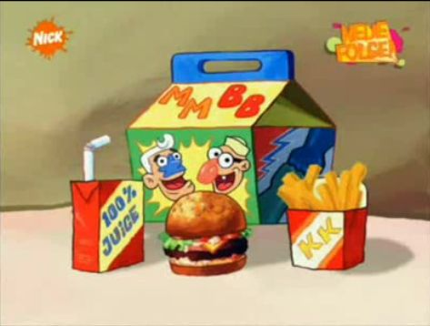 Krusty Kids Meal From Spongepedia The Biggest Spongebob Wiki In