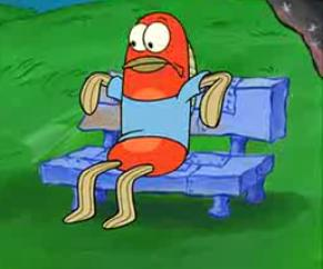 Frank cameo character from spongepedia the biggest for Spongebob characters fish