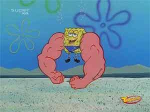 Musclebob Buffpants Episode From Spongepedia The Biggest