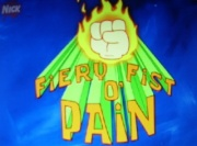 Fiery fist o pain