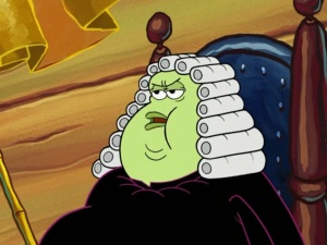 Judge Horace A Whopper From Spongepedia The Biggest