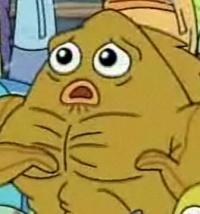 Frank Muscular Goldfish From Spongepedia The Biggest Spongebob